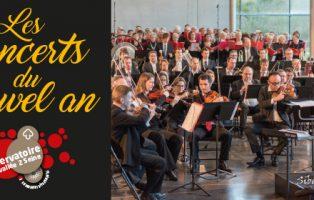concerts du nouvel an du Conservatoire Caux vallée de Seine les 7 et 8 janvier 2017 à l'abbaye de Gruchet-le-Valasse