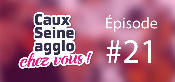"""Caux Seine agglo Chez Vous ! Épisode #21 - Les élèves du Conservatoire dansent sur """"Happy Feet"""" !"""